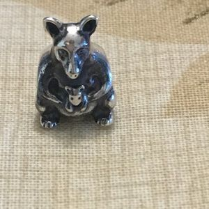 Authentic Pandora kangaroo charm